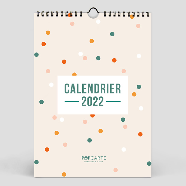 Calendrier Color Blocks