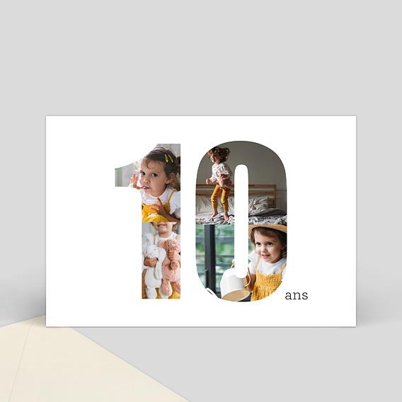 carte anniversaire enfant pour souhaiter un anniversaire un enfant de 10 ans. Black Bedroom Furniture Sets. Home Design Ideas