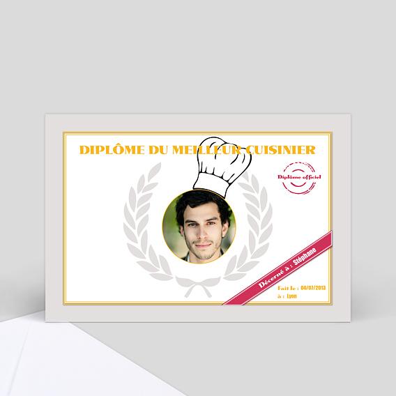 Dipl me du meilleur cuisinier envoyez des cartes for Cuisinier humour