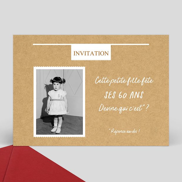 carte d 39 invitation anniversaire. Black Bedroom Furniture Sets. Home Design Ideas