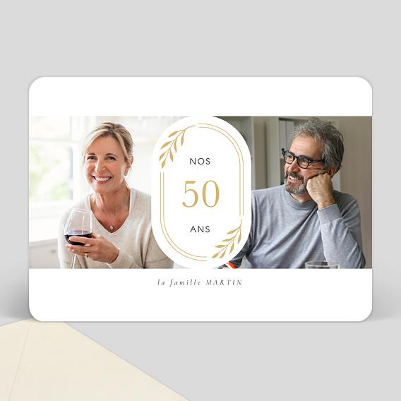 carte d 39 invitation double anniversaire popcarte. Black Bedroom Furniture Sets. Home Design Ideas