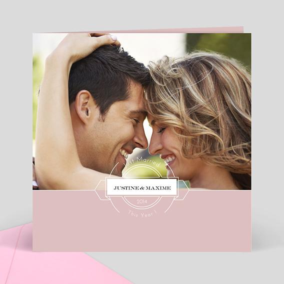 carte remerciement mariage avec photo 2 envoyez des cartes personnalis es avec popcarte. Black Bedroom Furniture Sets. Home Design Ideas