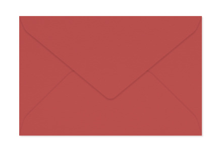 Envelope Rouge Carmin