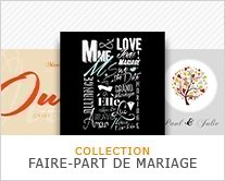 COLLECTION FAIRE-PART DE MARIAGE