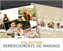 COLLECTION REMERCIEMENTS MARIAGE