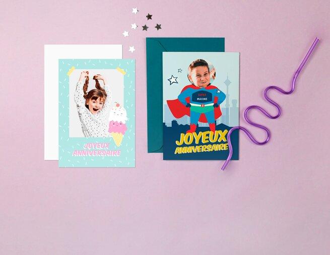 Cartes Anniversaire Personnalisees Popcarte