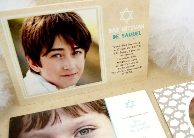 Faire-part Bar Mitzvah