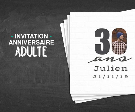 carte invitation anniversaire adulte a faire soi meme coleteremelly official. Black Bedroom Furniture Sets. Home Design Ideas