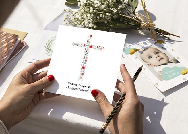 Cartes De Remerciements Popcarte