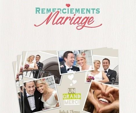 cartes de remerciements mariage pictures to pin on pinterest - Carte De Remerciement Mariage Pas Cher