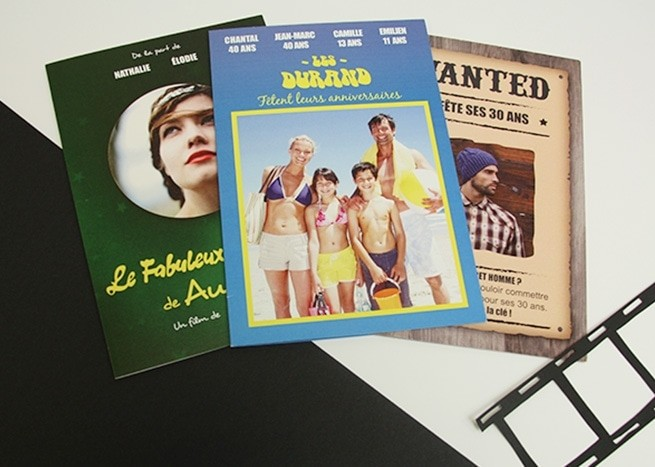Cartes affiches de films
