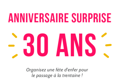 Anniversaire Surprise 30 Ans Minute Pop