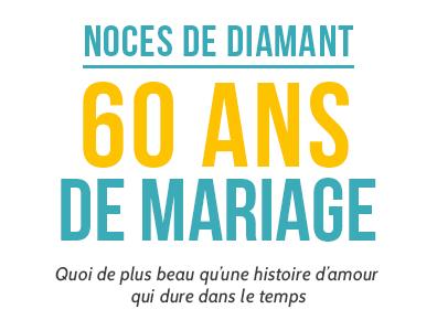 60 Ans De Mariage Minute Pop